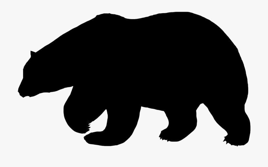 Bears clipart american black bear. Polar
