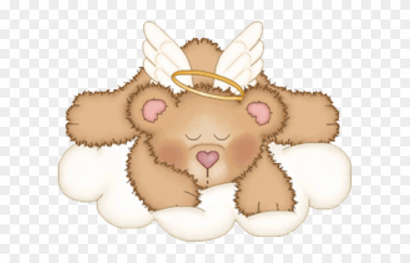Of the day teddy. Bears clipart angel