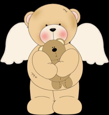 Bears clipart angel. Clip art images loving
