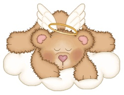 best teddy images. Bears clipart angel