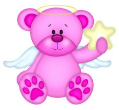 Bears clipart angel. Teddy bear clip art