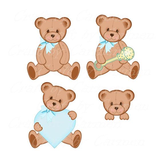 Teddy clip art cute. Bears clipart baby bear