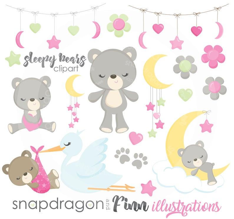 Buy get sleepy teddy. Bears clipart baby bear