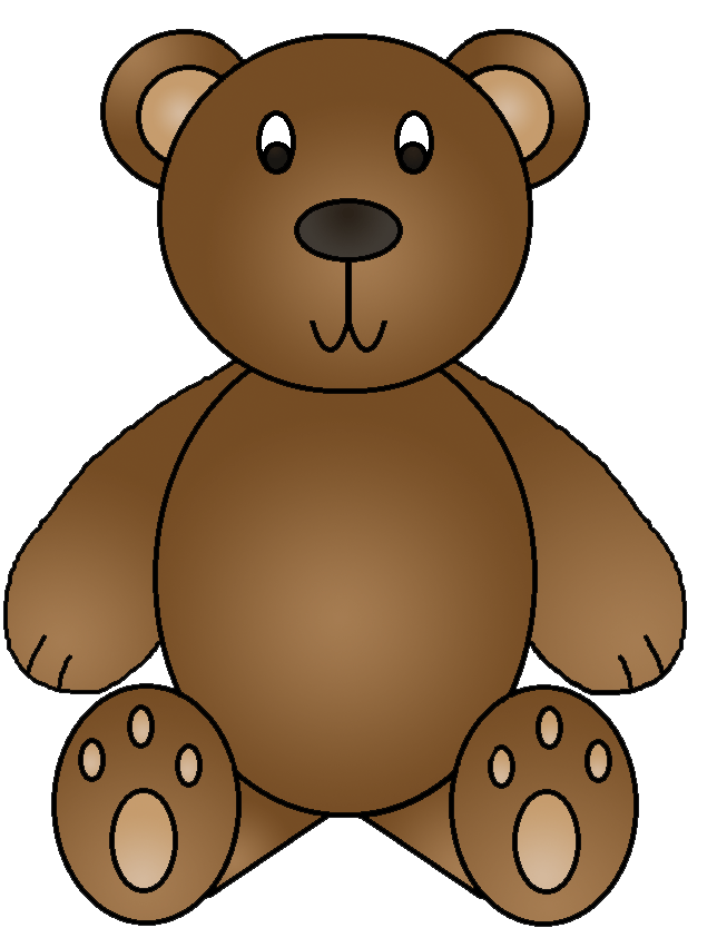 Graphics by ruth birthday. Clipart free bear