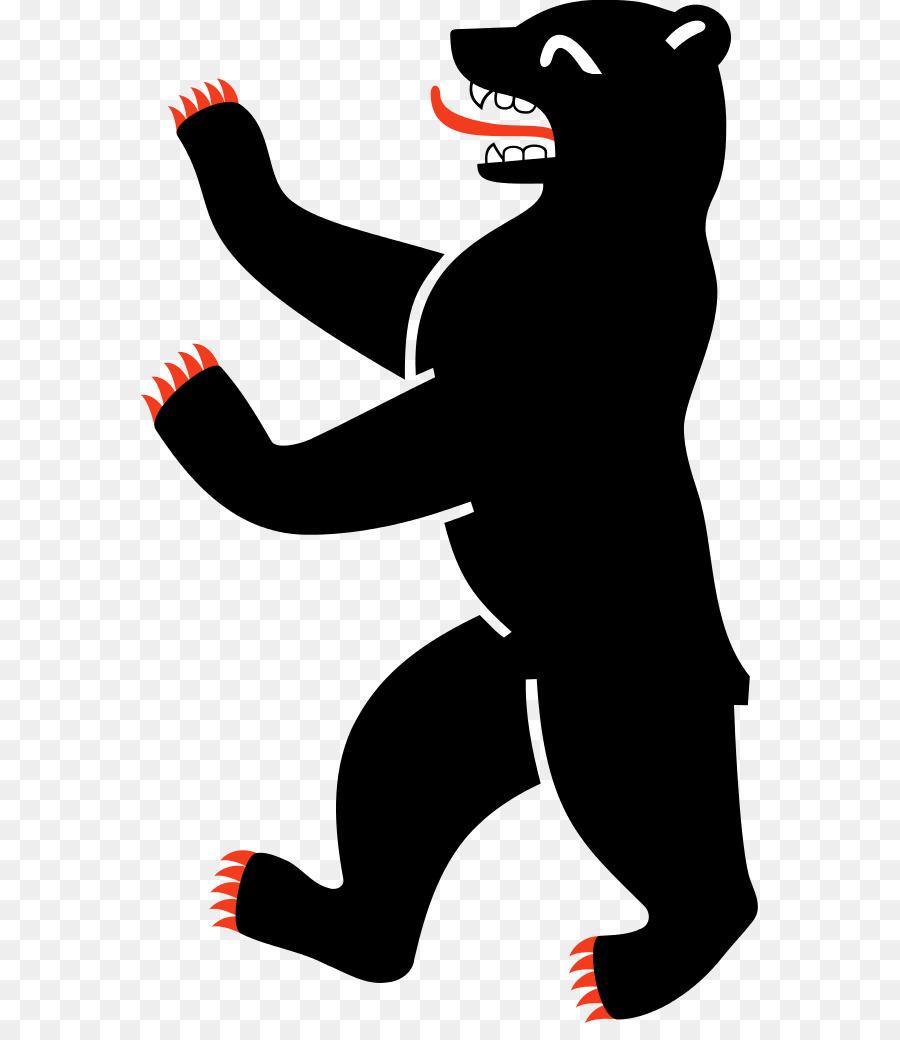 Bears clipart baer. Bear cartoon red black