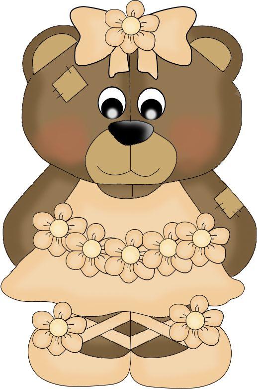 Bears clipart ballerina. Free on dumielauxepices net