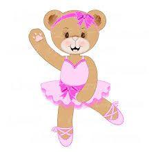 Bears clipart ballerina. Cute bear sweet teddy