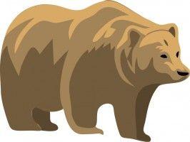 Architetto orso mama pinterest. Bears clipart bear california