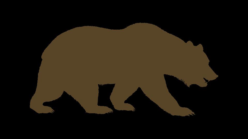 University of berkeley american. Bears clipart bear california