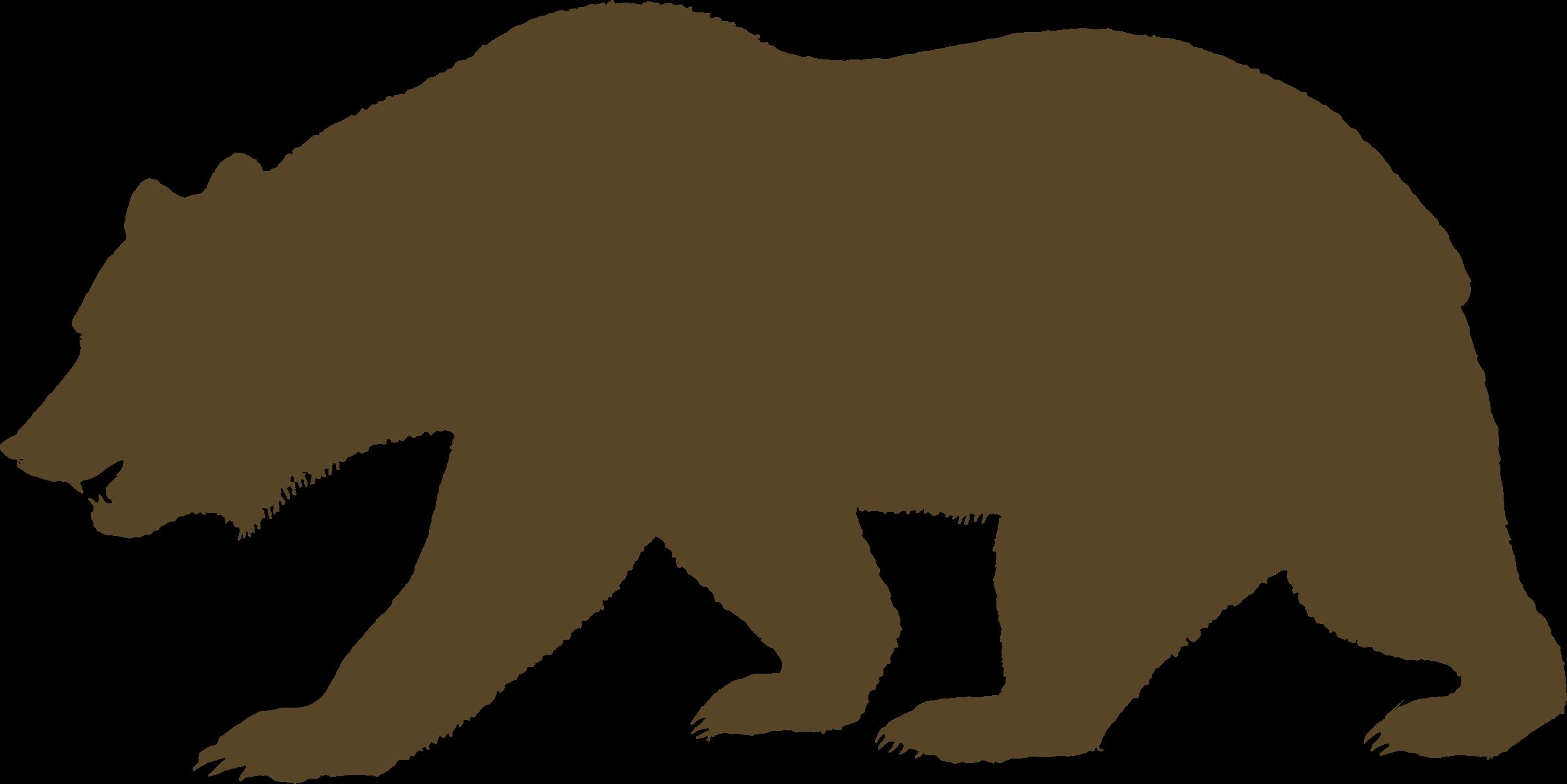 Bears clipart bear california. Republic grizzly clip art
