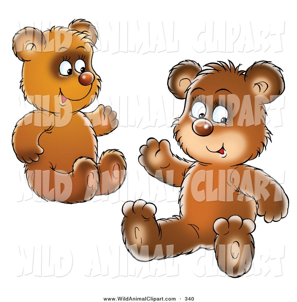 Bears clipart bear cub. Royalty free stock wildlife