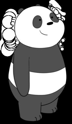 Bears clipart beruang. Panda we bare wikia