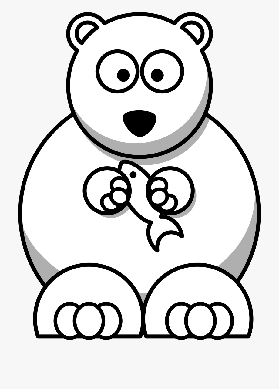 Bears clipart black and white. Teddy bear
