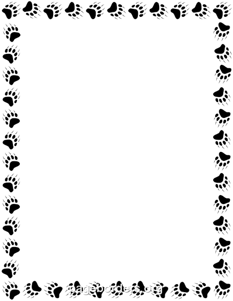 Pin by muse printables. Bears clipart border