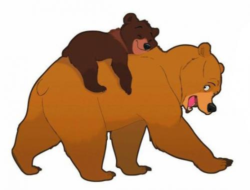 Brown free on dumielauxepices. Bears clipart brother bear