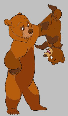 best disney images. Bears clipart brother bear