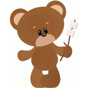 Bears clipart camping.  best clip art