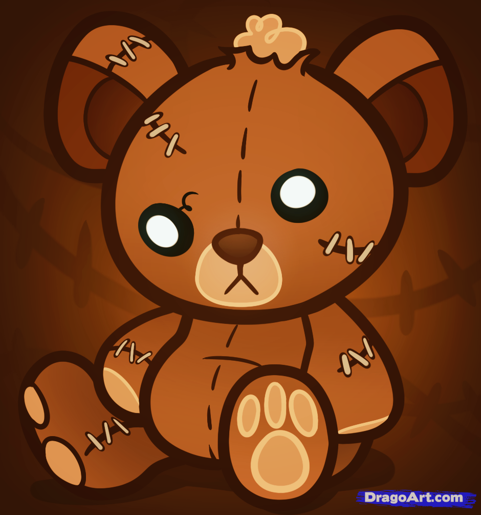 Bear magic fairy tail. Bears clipart chibi