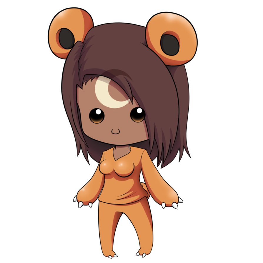 Bear by thegeckoninja on. Bears clipart chibi