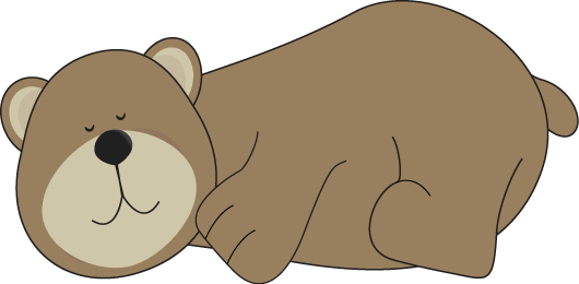 Bears clipart clip art. Bear images sleeping