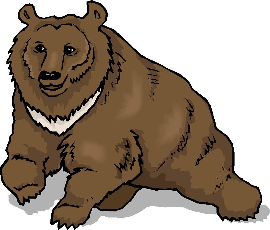 Bears clipart colored. Clip art farm picgifs