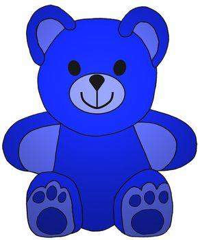 Clip art little math. Bears clipart colored