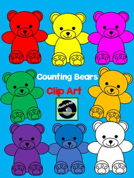 Bears clipart counting. Clip art