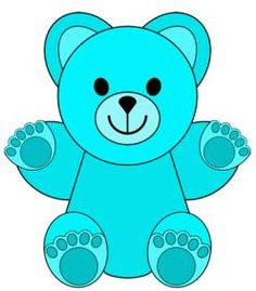 Clip art little colored. Bears clipart counting