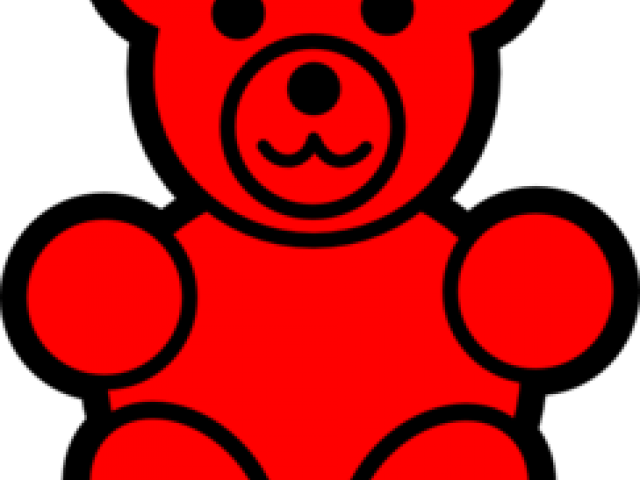 Gummy bear neon free. Bears clipart counting