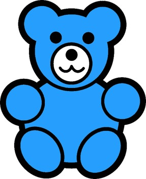 Clip art . Bears clipart counting