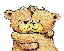 Free cliparts download clip. Hug clipart bear hug