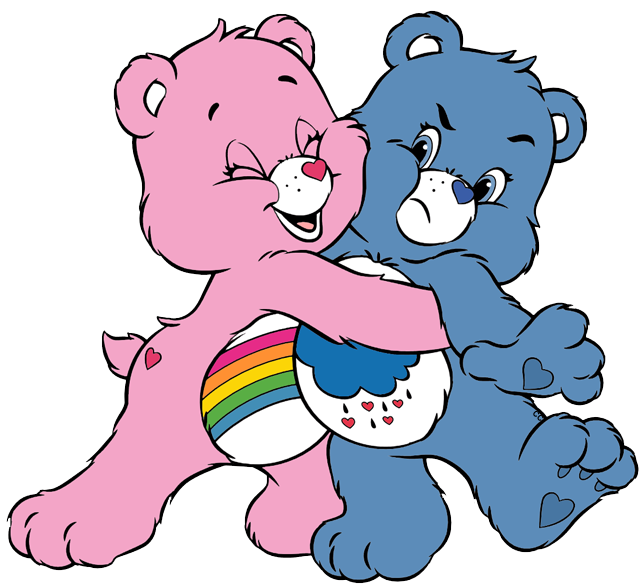 Caring collection care bears. Cousins clipart love