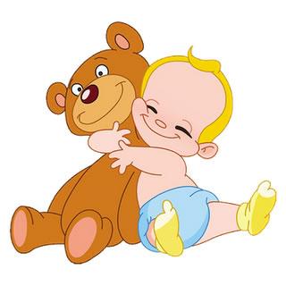 Cuddle . Bears clipart cuddling