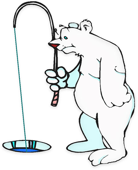 Free animations animated gifs. Bears clipart fishing