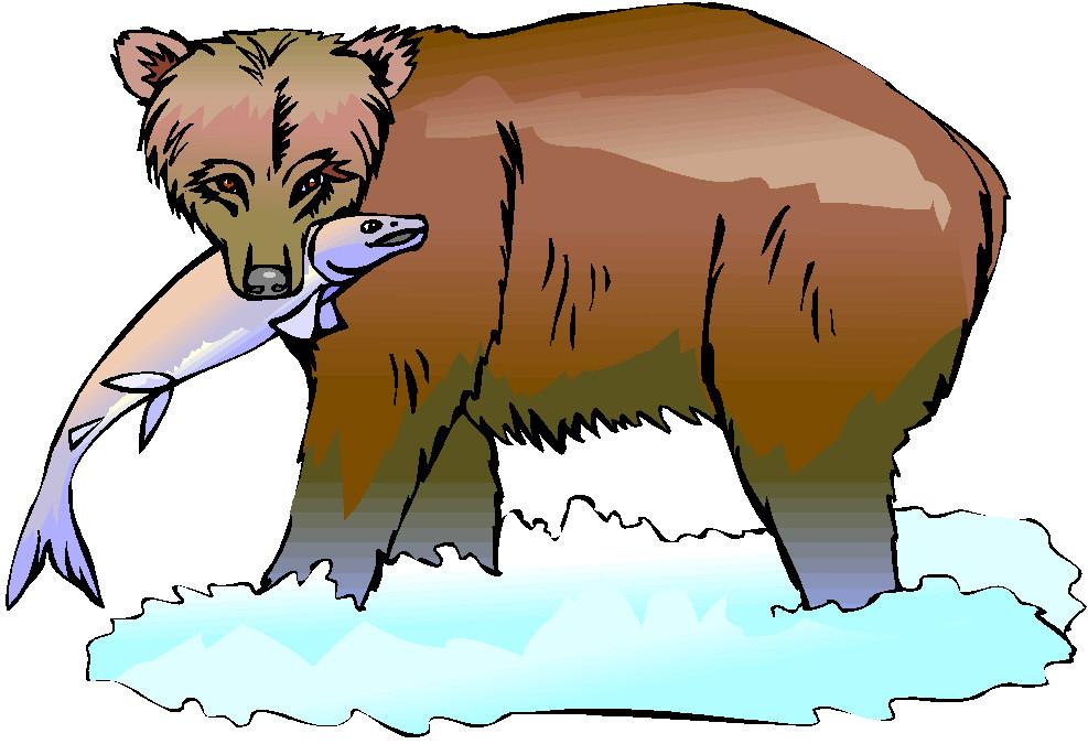 Clip art farm picgifs. Bears clipart fishing