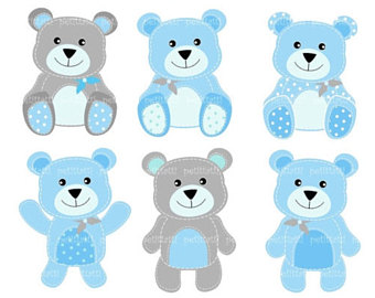 Bears clipart friendly. Bear etsy on sale