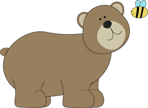 Bears clipart friendly. Brown bear and a