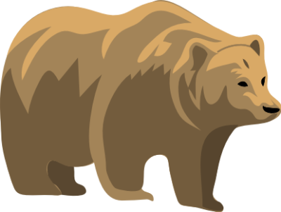 Free doodles pinterest. Bears clipart grizzly bear