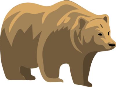 Bear clipart grizzly bear. Free doodles pinterest bears