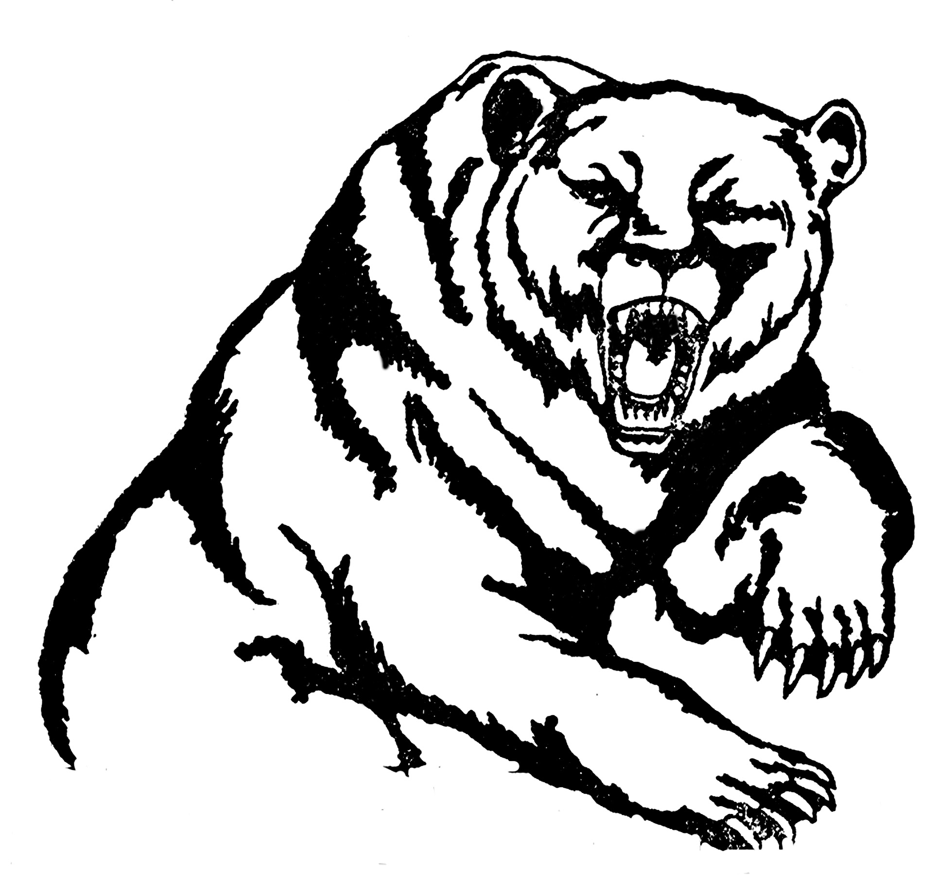 Bears clipart grizzly bear. Clip art panda free