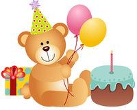 Teddy bear pencil and. Bears clipart happy birthday