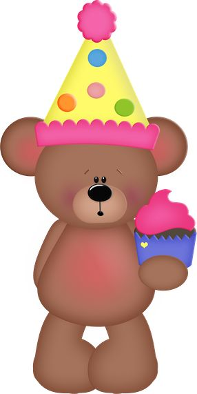 best images on. Bears clipart happy birthday