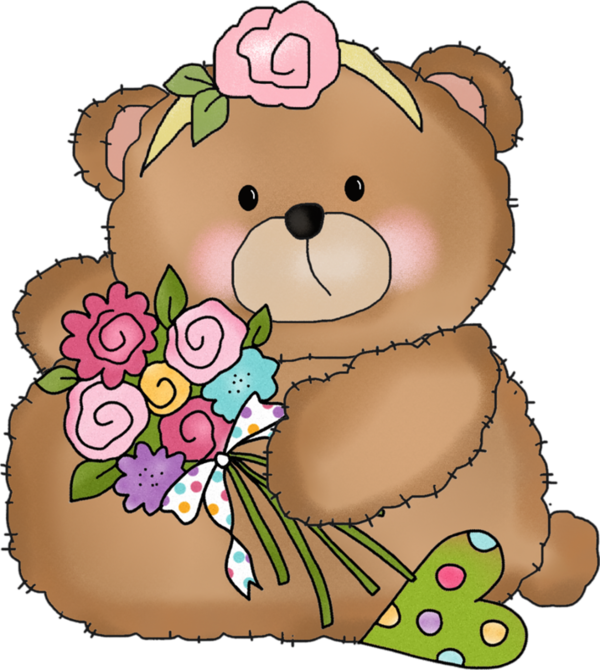 Peluche png oursons tubes. Clipart cake bear