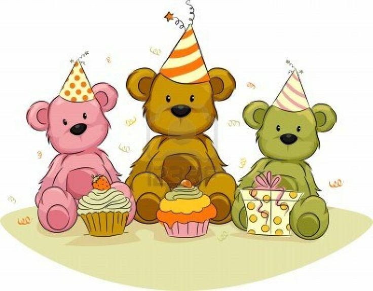 best clip art. Bears clipart happy birthday