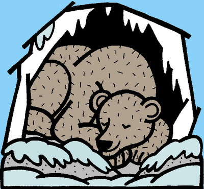 Free hibernation clipartmansion com. Bears clipart hibernating