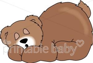Clip art . Bears clipart hibernating