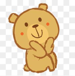 Bears clipart kawaii. Bear png vectors psd