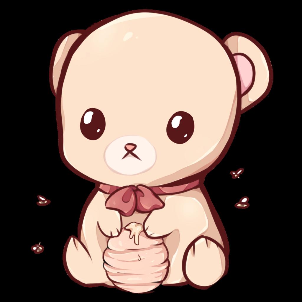 Bear by dessineka on. Bears clipart kawaii