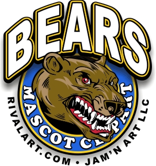 On rivalart com bear. Bears clipart mascot