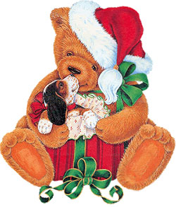 Bears clipart new years eve. Free christmas bear graphics